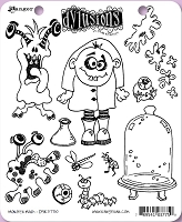 Dylusions - Cling Rubber Stamps - Monster Mash