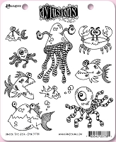 Dylusions - Cling Rubber Stamps - Under the Sea