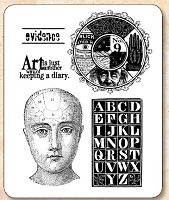 Stamper's Anonymous / Tim Holtz - Cling Rubber Stamp Set - Classics # 11