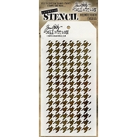 Stamper's Anonymous / Tim Holtz - Layering Stencil - Houndstooth