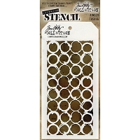 Stamper's Anonymous / Tim Holtz - Layering Stencil - Ringer