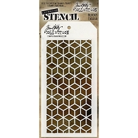 Stamper's Anonymous / Tim Holtz - Layering Stencil - Blocks