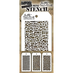 Stamper's Anonymous / Tim Holtz - Mini Layering Stencils - Set #28