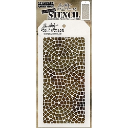 Stamper's Anonymous / Tim Holtz - Layering Stencil - Mosaic