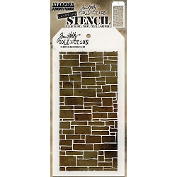 Stamper's Anonymous / Tim Holtz - Layering Stencil - Slate