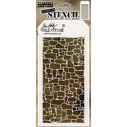 Stamper's Anonymous / Tim Holtz - Layering Stencil - Stone