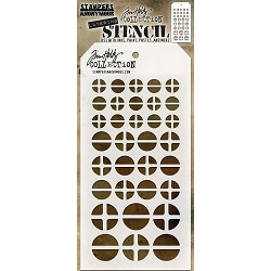 Stamper's Anonymous / Tim Holtz - Layering Stencil - Screwed