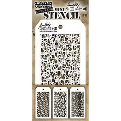 Stamper's Anonymous / Tim Holtz - Mini Layering Stencils - Set #35