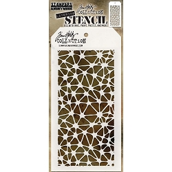 Stamper's Anonymous / Tim Holtz - Layering Stencil - Organic
