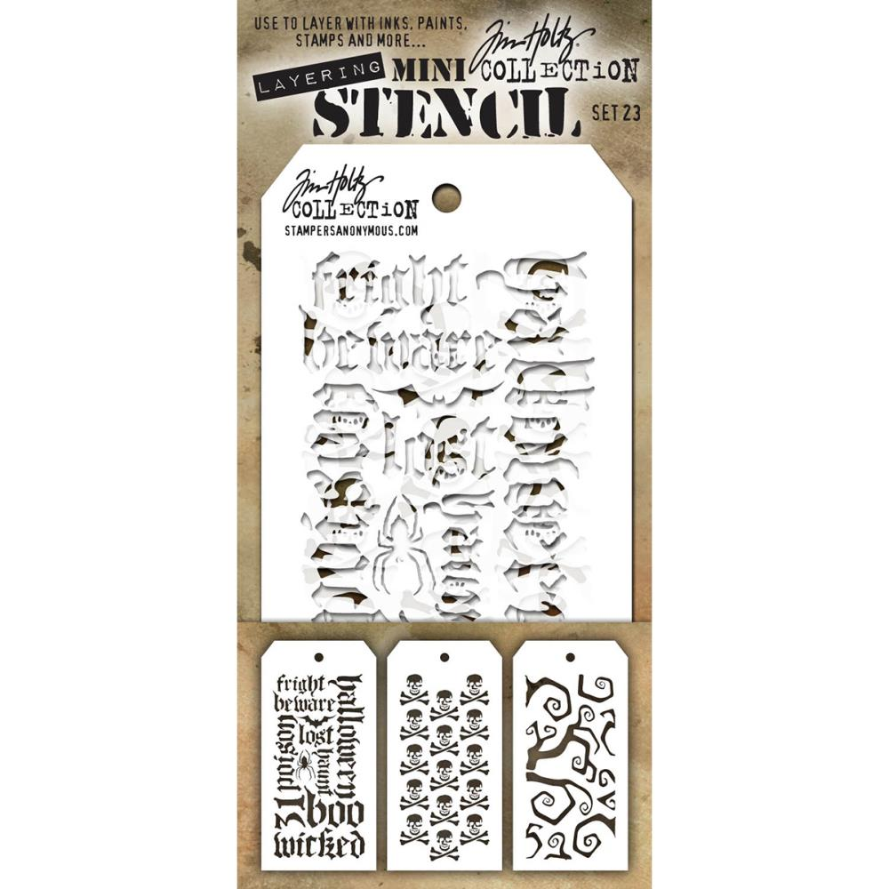 Stamper's Anonymous - New Tim Holtz Stencils
