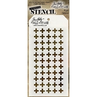 Stamper's Anonymous / Tim Holtz - Layering Stencil - Plus