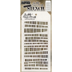 Stamper's Anonymous / Tim Holtz - Layering Stencil - Code
