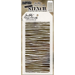 Stamper's Anonymous / Tim Holtz - Layering Stencil - String