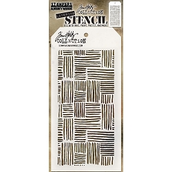 Stamper's Anonymous / Tim Holtz - Layering Stencil - Thatched