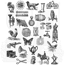 Stamper's Anonymous / Tim Holtz - Cling Mounted Rubber Stamp Set - Tiny Things 2