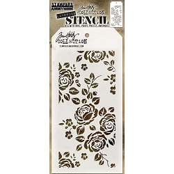 Stamper's Anonymous / Tim Holtz - Layering Stencil - Roses