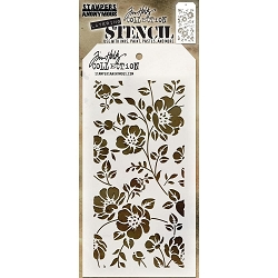 Stamper's Anonymous / Tim Holtz - Layering Stencil - Floral