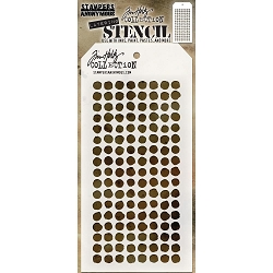 Stamper's Anonymous / Tim Holtz - Layering Stencil - Dotted