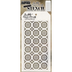 Stamper's Anonymous / Tim Holtz - Layering Stencil - Rosette