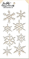 Stamper's Anonymous / Tim Holtz - Layering Stencil - Snowflake