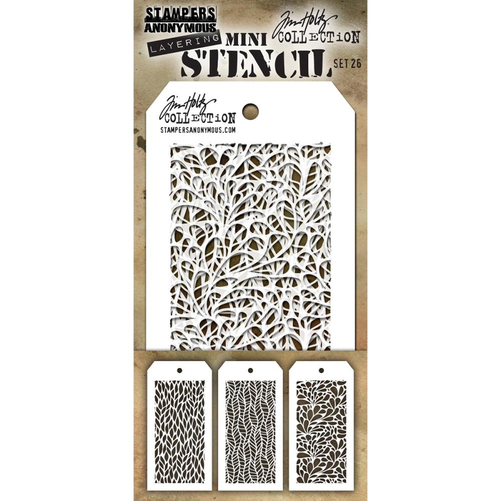 Stamper's Anonymous - New Tim Holtz Stencils March 2017