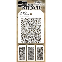 Stamper's Anonymous / Tim Holtz - Mini Layering Stencils - Set #26