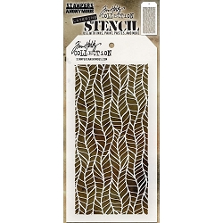 Stamper's Anonymous / Tim Holtz - Layering Stencil - Feather