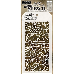 Stamper's Anonymous / Tim Holtz - Layering Stencil - Splash