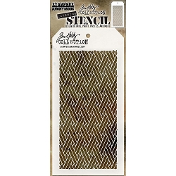 Stamper's Anonymous / Tim Holtz - Layering Stencil - Woven
