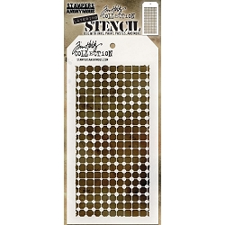 Stamper's Anonymous / Tim Holtz - Layering Stencil - Grid Dot