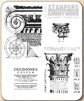 Tim Holtz Stamper's Anonymous Classics- Cling Rubber Stamp Set -  Classics # 2