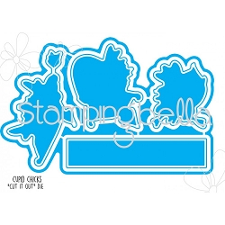 Stamping Bella - Cutting Dies - Cupid Chicks CUT IT OUT dies