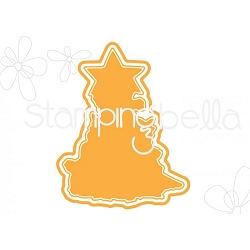 Stamping Bella - Cutting Dies - The Chick Tree CUT IT OUT dies