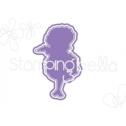 Stamping Bella - Cutting Dies - Tiny Townie Garden Girl Marigold CUT IT OUT dies