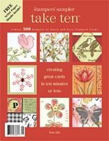 Stampington & Company - Stampers' Sampler - Take Ten - Winter 2008