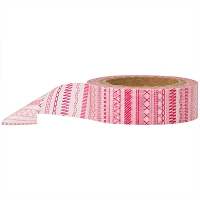 Stampington & Company - Washi Tape - Red Sewing Stitches
