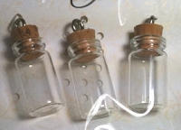 Dangles - Mini Glass Vials - small
