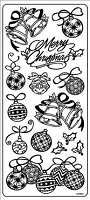 Sticker King Peel Off Stickers - Christmas (Gold)