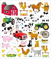 Sticker King-Flat Stickers-Farm
