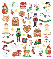 Sticker King-Flat Stickers- Christmas Gifts