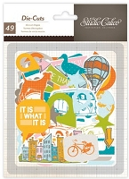 Studio Calico - Here & There Collection - Die cuts