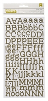 American Crafts Thickers Stickers - Yearbook Green