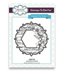 Sue Wilson Designs - Cling Mounted Stamp - Garden Song