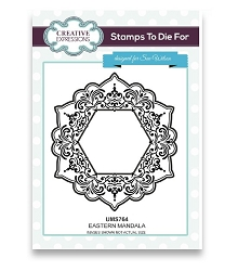 Sue Wilson Designs - Cling Mounted Stamp - Eastern Mandala