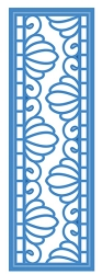 Sue Wilson Designs - Die - Petite Striplet - Rippled