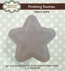 Sue Wilson Designs - Accessory - Fillables Collection - Set of 6 Star Treat Cups (for use with the Festive Star dies)