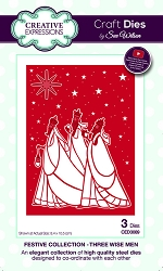 Sue Wilson Designs - Die - Festive Collection Three Wise Men