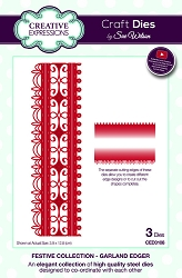 Sue Wilson Designs - Die - Festive Collection Garland Edger