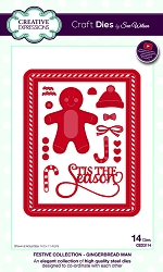 Sue Wilson Designs - Die - Festive Collection Gingerbread Man