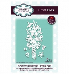 Creative Expressions - Die - Paper Cuts Collection Spring Posy